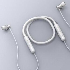 Image 2 - Lenovo Bluetooth אוזניות HE05 אלחוטי Bluetooth אוזניות BT5.0 ספורט Sweatproof אוזניות IPX5 עם מיקרופון רעש ביטול ארפ