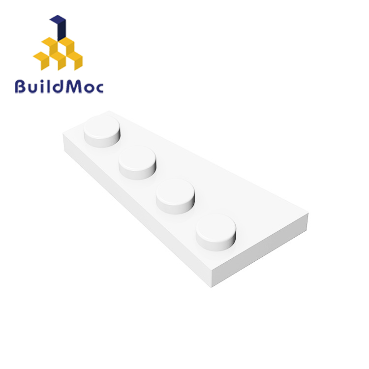 BuildMOC Assembles Particles 41769 Wedge Plat Building Blocks Parts DIY Enlighten Block Bricks Educational Gift Toys