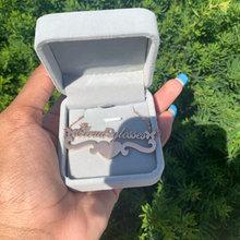 Ожерелье с именем бабочки на заказ ожерелье из нержавеющей стали