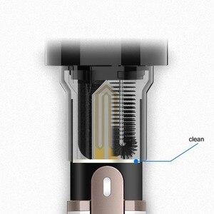Image 4 - Juego de 3 cepillos de repuesto para limpiador eléctrico, accesorios de cepillo eléctrico, herramienta de limpieza para ELIO EC100, extraíble y lavable para Iqos, 1 unidad