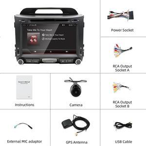 Image 2 - Bosion 32 2G + G Android 10.0 DVD player Do Carro KIA sportage r 2011 2012 2013 2014 2015 carro de rádio unidade de cabeça de navegação gps som do carro