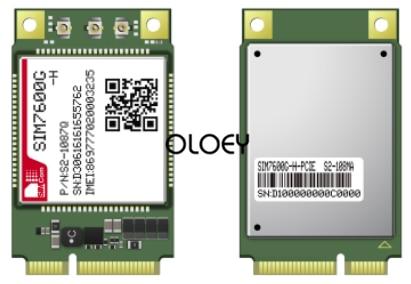 SIMcom SIM7600G MINIPCIE CAT4 LTE Module, 4G Module, Global Frequency Band, 100% Brand New Original, SIM7600