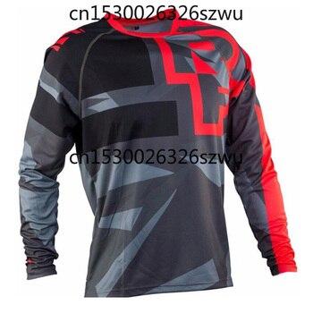 Camiseta para Moto Maillot Ciclismo Hombre Dh Abajo Jersey Fuera De La...