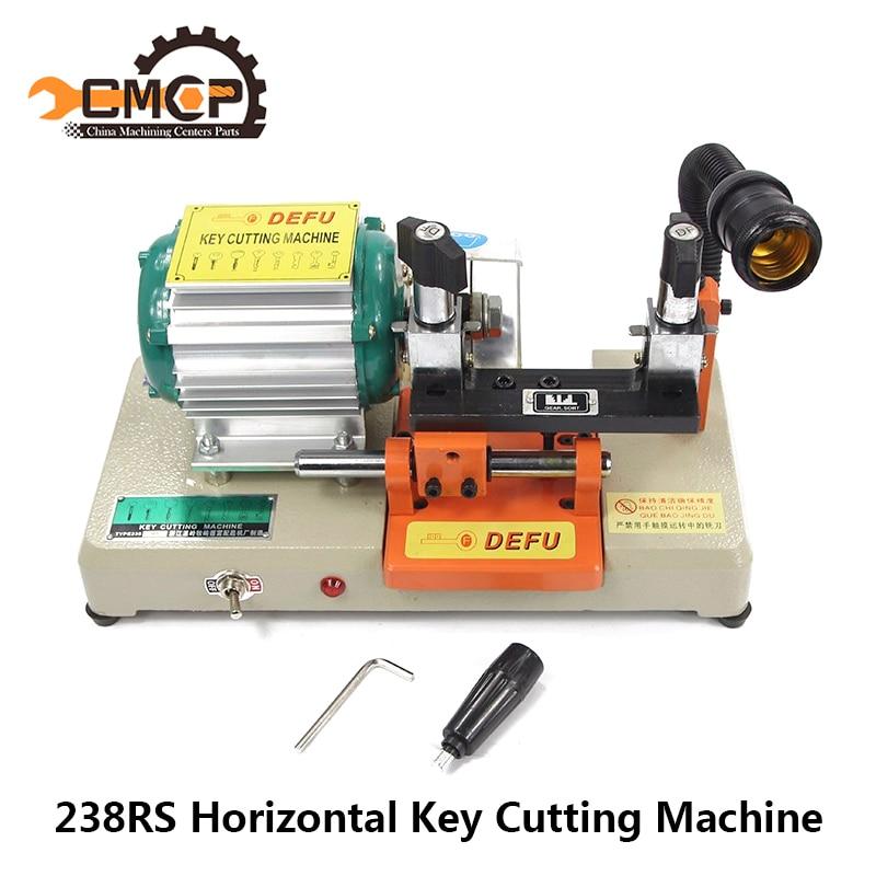 238RS Key Cutting Machine 110V/220V Horizontal Key Duplicating Machine Locksmith Tools Key Copy Machine
