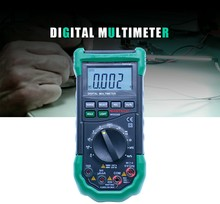 MASTECH Digital Multimeter Auto Range protection ac/dc ammeter voltmeter ohm Frequency electrical tester diode detector aneng digital trms multimeter 6000counts backlight ac dc ohm voltmeter temperature auto range ammeter high quality