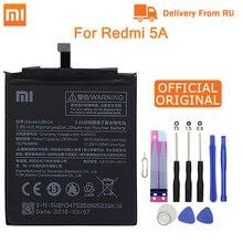 """Bateria bn34 do telefone original de xiao mi para xiaomi redmi 5a 5.0 """"bateria de substituição 2910 mah baterias de telefone de alta capacidade + ferramentas"""