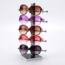 Wood Made Glasses Display Stand For Sunglass 3D Glass 5 vice