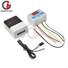 12 В 24 в 110 В 220 В цифровой термостат регулятор температуры Регулятор комнатный инкубатор Отопление холодный терморегулятор термометр