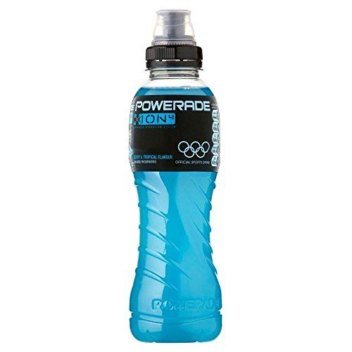 Powerade ION4 Isotonic Berry & Tropical Fruit Sports Drink (500ml) - Pack Of 2