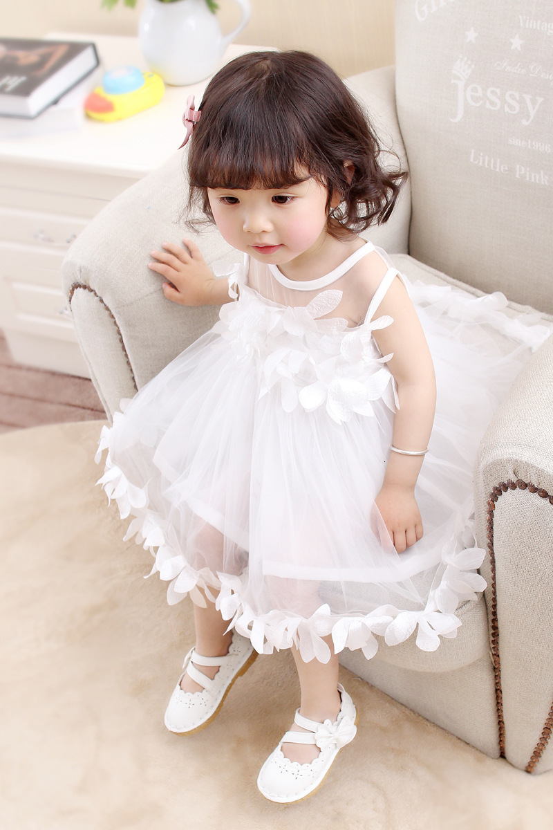 Hfbef0ab81b004613a679649b151077f5X Girls Dress 2018 Summer Explosion Solid Color Denim Dress Cartoon Polka Dot Bow Cartoon Bunny Satchel Korean Baby Cute Dress