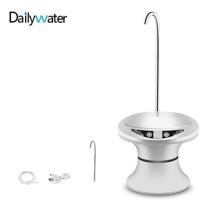 Water Bottle Dispenser Pump Automatic Electric Drinking Water Jug Pump for 1 5 Gallon Jug– USB Rechargeable BPA Free Dispenser