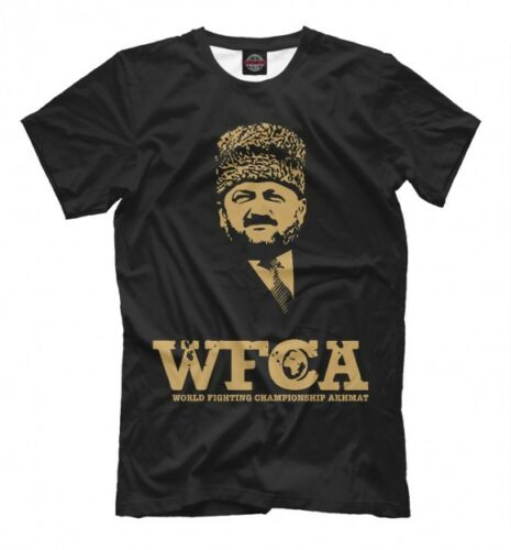 Chechnya Wfca Akhmat Fight Club T-Shirt Чечня Chechen Republic