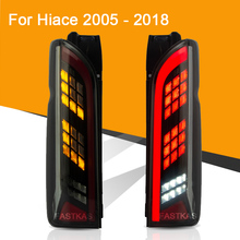 LED Tail Light for Assembly for TOYOTA HIACE 2005   2018 LED Tail Light Reverse Light Sequential Turning Signal Light Rear Fog