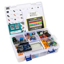 2019 najbardziej opłacalny projekt DIY Starter elektroniczny zestaw do majsterkowania z samouczkiem kompatybilny z Arduino IDE UNO R3 CH340 tanie tanio ROBOTLINKING Nowy Regulator napięcia UNO REV3 Microcontrollers 0℃-35℃ 7-12 V 20 mA 50 mA 2 KB 1 KB 16 Mhz