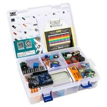 2020 ביותר חסכוני DIY פרויקט Starter אלקטרוני DIY ערכת עם הדרכה תואם עם Arduino IDE UNO R3 CH340