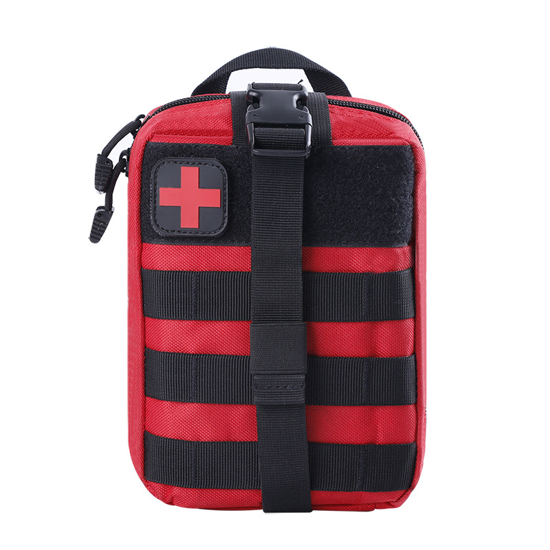 Outdoor First Aid Medical Care Wallet Multi-functional Outdoor Travel Storage Medical Care Bag Molle Army Fans Tactical Medical