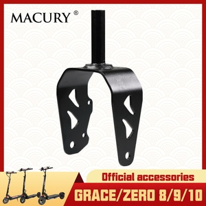Front Fork for Grace & Zero 8 9 10 T8 T9 T10 Electric Scooter Wheel Mount Bracket Base Macury Original Spare Parts(China)