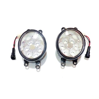 July King 18W 6500K 6LEDs LED Daytime Running Lights LED Fog Lamp case for Scion iQ 2012-2013, over 1260LM/pc
