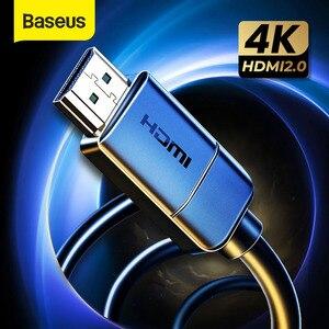 Image 1 - Baseus HDMI כבל HDMI ל HDMI כבל HDMI 2.0 עבור אפל טלוויזיה PS4 ספליטר 3m 5m 10m כבל HDMI 4K 60Hz HDMI כבל HDR Vedio כבל