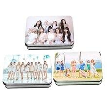 40Pcs/set KPOP TWICE Girls Album Photo Card PVC Cards Self Made LOMO Card Photoc