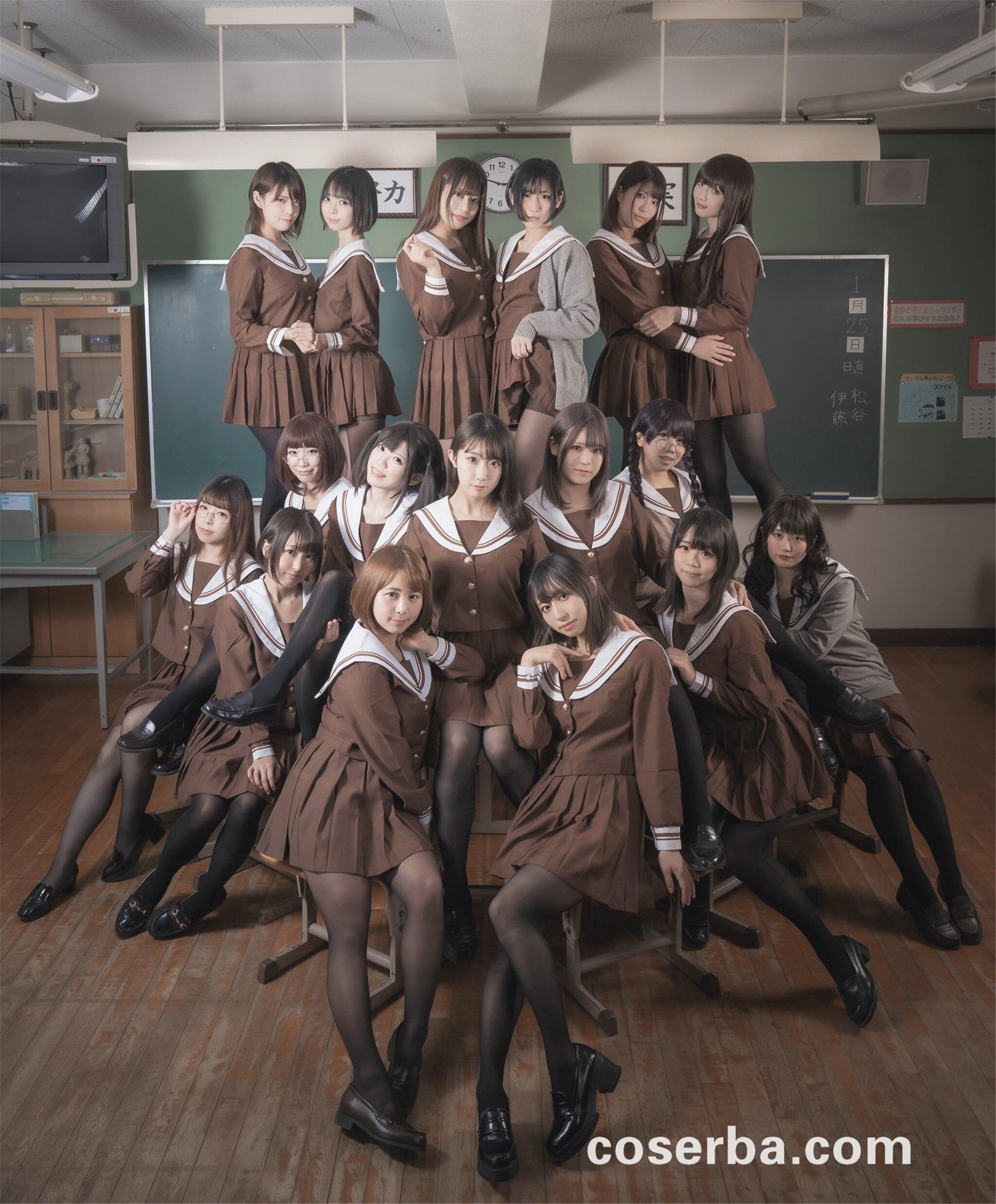 黑丝制服:谁上学不想有这样的女同学呢?[104P/25M] coserba.com整理发布