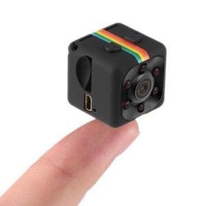 Mini Macchina Fotografica Hd 960P Piccola Cam Sensore Videocamera Mini Video Dvr Della Macchina Fotografica Dv Motion Recorder Camcorder Sq11, Nero