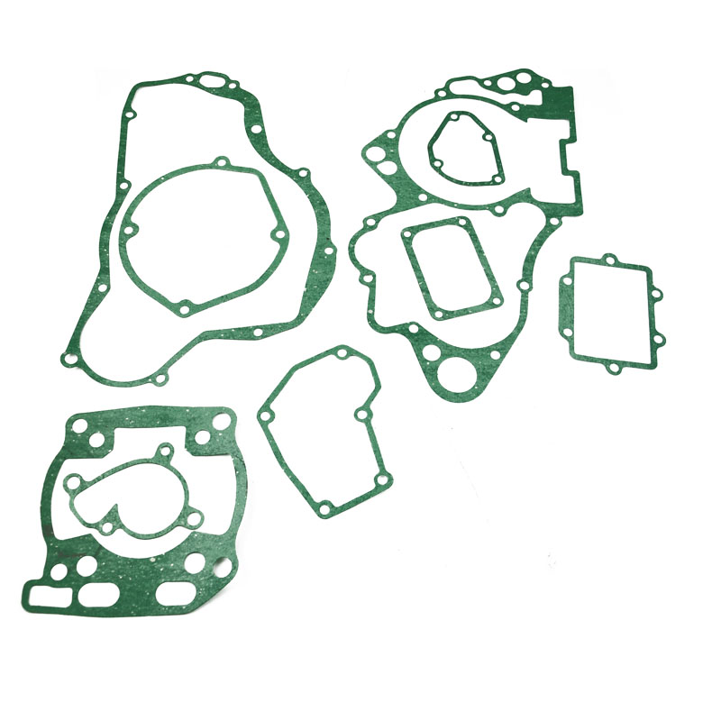 Motorcycle engine gaskets include Crankcase Covers <font><b>cylinder</b></font> gasket kit set For <font><b>SUZUKI</b></font> RM250 <font><b>RM</b></font> <font><b>250</b></font> 2001 image