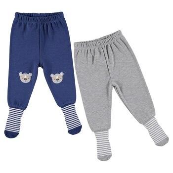 ebebek HelloBaby Printed Baby Pantyhose Pants 2 pcs