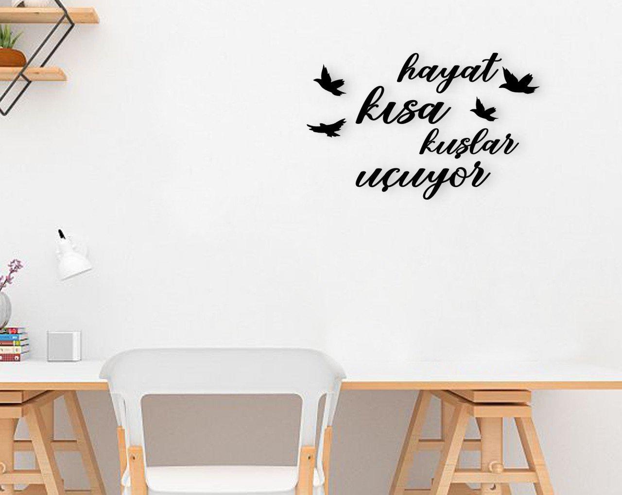 BK Home Life Short Birds Uçuyor Wood Wall Post Modern Convenient Reliable Decoration Gift Quality Design Simple