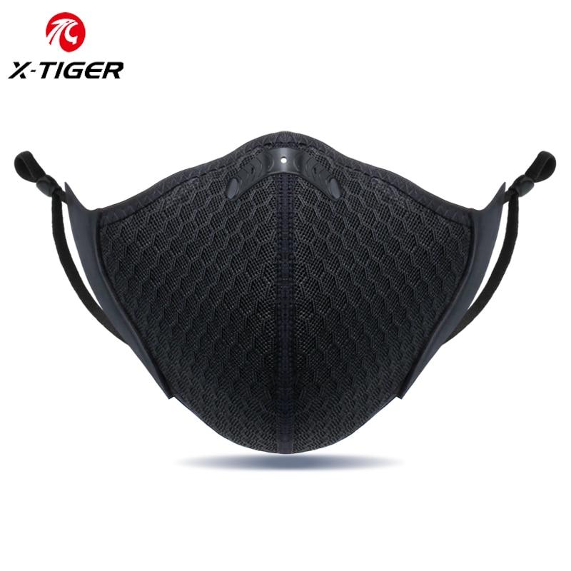 X-TIGER masque de cyclisme Anti-Pollution filtre à charbon masque de sport course à pied entraînement vtt vélo de route masques de cyclisme livraison directe