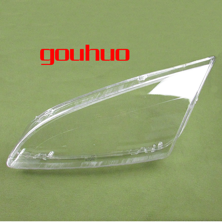 headlight cover transparent lampshade mask PC cover hardened fog treatment headlight glass for FORD Focus 2004 2008 2PCS
