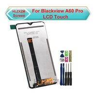 Blackview A60 Pro LCD 디스플레이 용 터치 스크린 디지타이저 어셈블리 교체 도구 + 3M 스티커