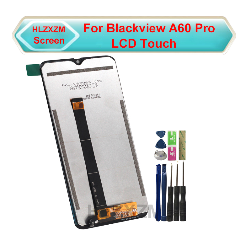For Blackview A60 Pro LCD Display With Touch Screen Digitizer Assembly Replacement With Tools+3M Sticker