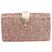 Women Evening Clutch Bag Glitter Purse Fashion Handbags For Dance Wedding Party Prom Bride цена 2017