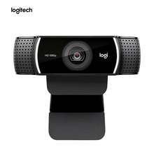 100% оригинальная веб камера Logitech C922 PRO с автофокусом, встроенным микрофоном, анкерная камера Full HD со штативом
