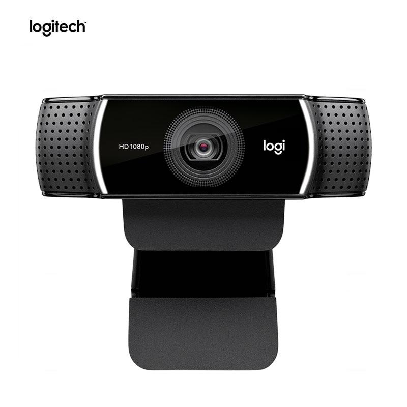 100% Original Logitech C922 PRO Autofocus Webcam Built-in Microphone Full HD Anchor Camera With tripod