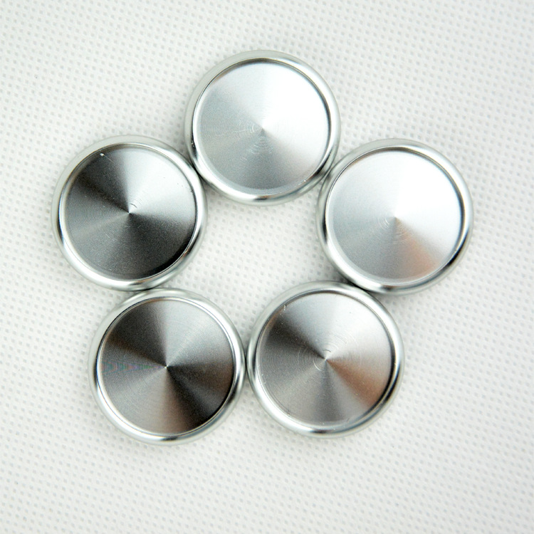 6pcs 38mm Book Binding Supplies Aluminum Binding Discs Mushroom Hole Binder With Metal Disc Binding Loose-leaf Ring Buckle