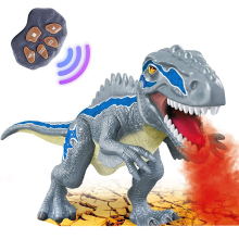 Spray Dinosaur Kids Pet Remote Control Toys Walking Tyrannosaurus Animal Model Color Light Sounds Children Gift