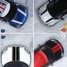 Капот полосы наклейки для автомобиля-Стайлинг для MINI Cooper S земляк Clubman Paceman R56 R60 R61 F54 F55 F56 аксессуары