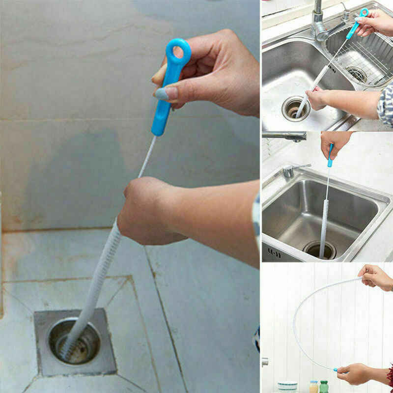 耐久性のある柔軟なブラシクリーナーシンク浴槽トイレ浚渫パイプヘビ浴室キッチンブラシツール