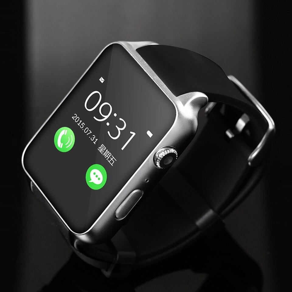 Montre intelligente GT88 téléphone montre support carte SIM carte SD moniteur de fréquence cardiaque santé bracelet horloge Bluetooth pour Android IOS smartwatch