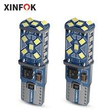 2x Auto Lampadine LED Luci di Retromarcia T10 194 168 W5W DC12 volt 2.6 watt 6000K Bianco 2016 SMD XFT027 luce di Segnale Auto