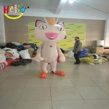 3 m high inflatable mascot costume cartoon model outdoor decoration and promotion(China)