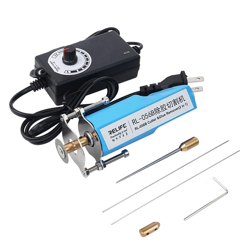 2 In 1 LCD Screen Glue Remover For LCD OLED Screen Glue Remover Phone Screen Cutting Machine RL-056B