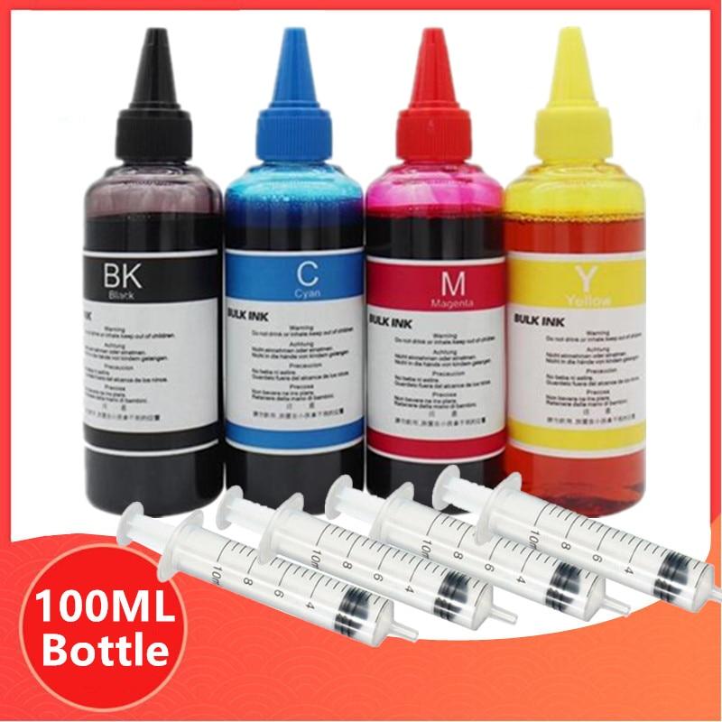 Universele Refill Dye Inkt Kit Voor Epson Voor Canon Voor Hp Voor Voor Brother Alle Model Printer Inkt Cartridge Ciss inkt For A Inkt Tank Inkt bijvul kits Computer & Kantoor - title=