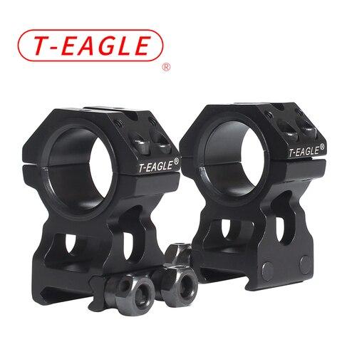 Trilho de Dobradiça de Perfil Alto para Rifle T-eagle Riflescope Monta Anel 20mm Scope Caça Montar Picatinny Montagem 25.4mm – 30mm