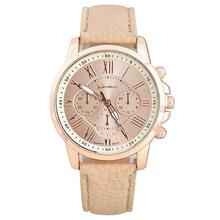 Women Leather Band Elegant Watch Fashion Vivid Color Wristwatch for Girls Birthday Gifts