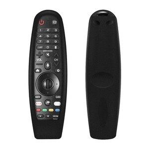 Image 2 - ل LG الذكية جهاز التحكم عن بعد في التلفزيون AN MR600 ماجيك حالات التحكم عن بعد SIKAI الذكية OLED التلفزيون واقية سيليكون يغطي