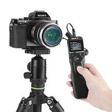 Viltrox MC C3 LCD 타이머 Canon 7D II 6D II 5DS 5D Mark IV 5DIII 50D 40D 30D 20D 10D 용 원격 셔터 릴리즈 제어 케이블 코드