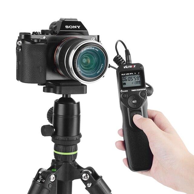 Viltrox MC C3 LCD minuterie télécommande obturateur déclencheur câble de commande cordon pour Canon 7D II 6D II 5DS 5D Mark IV 5DIII 50D 40D 30D 20D 10D